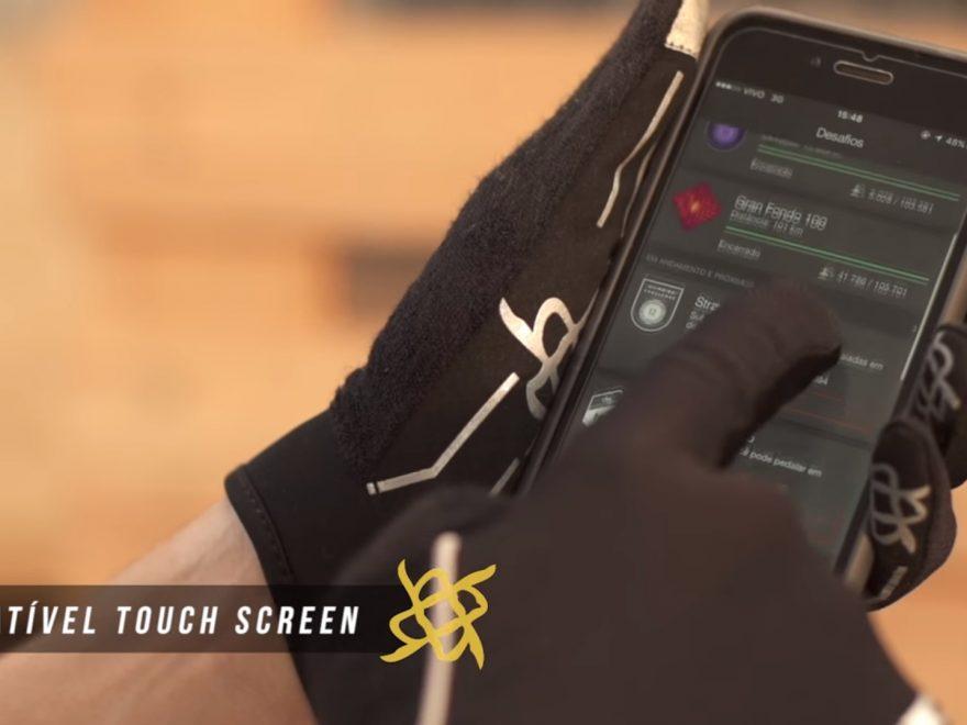 Luva HUPI com dedo Touch Screem