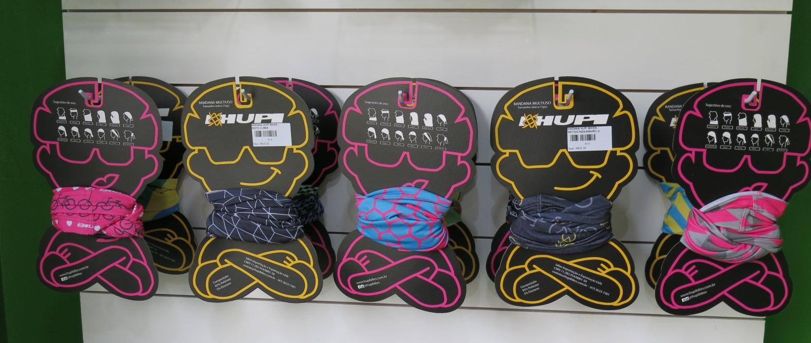 Bandanas para ciclismo HUPI Bikes.