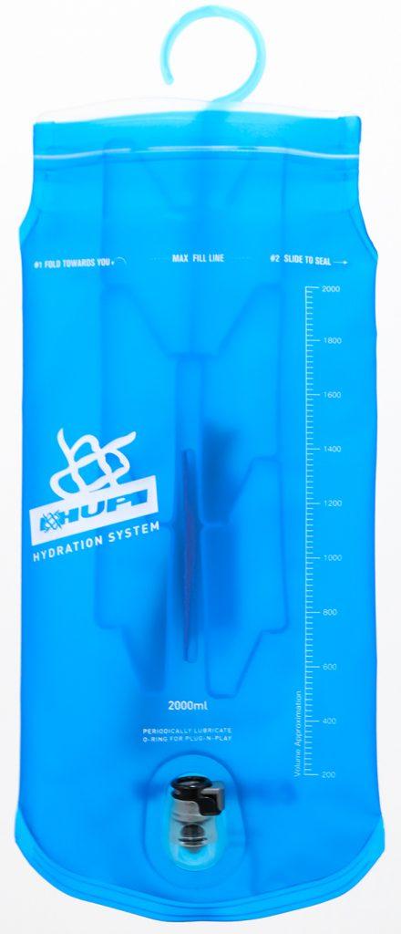 Limpeza do Refil da mochila de Hidratação