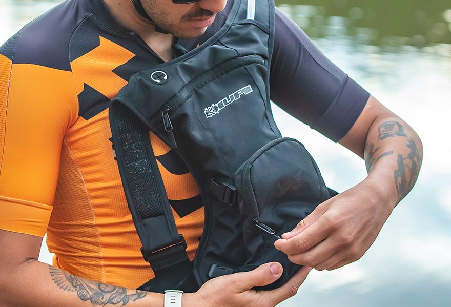 Mochila de hidratação para ciclismo e corrida