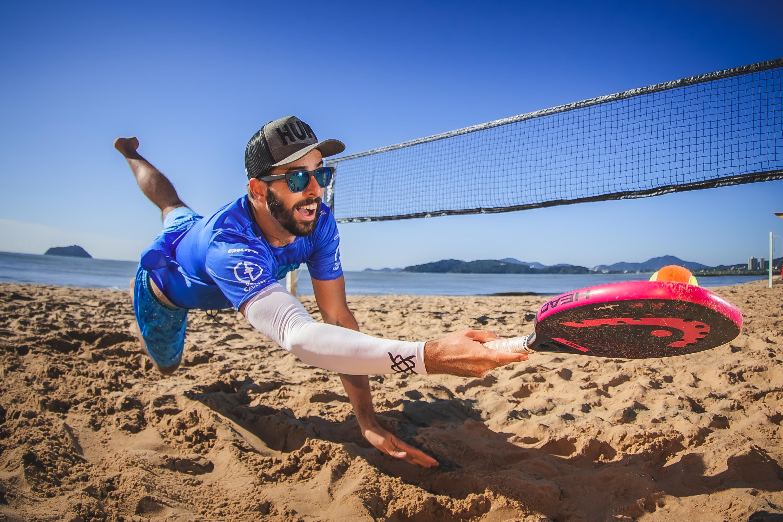 beach tennis manguito