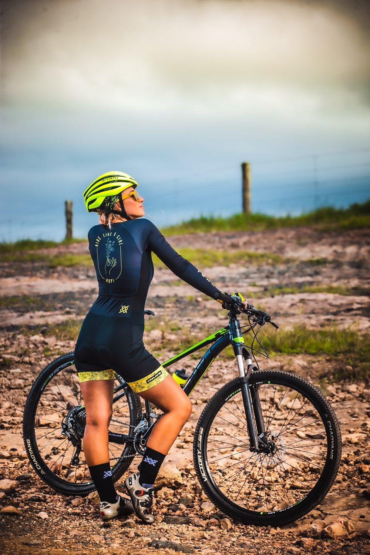 combinação roupa de ciclismo